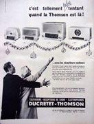 Radio TSF Marque Ducretet-Thomson, modèle L934