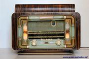 Radio TSF Marque Mondial-Paris, modèle Super 6 lampes